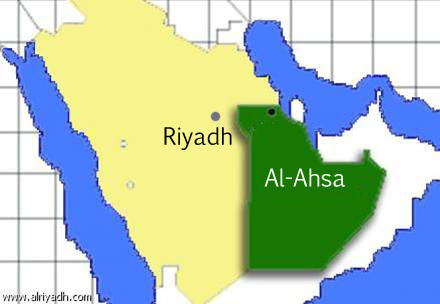 Map of Al-Ahsa (1)