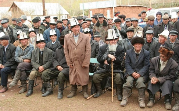 Kyrgyzstan community meeting