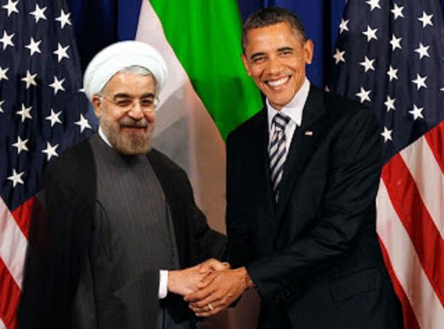 Obama and Hassan Rohani