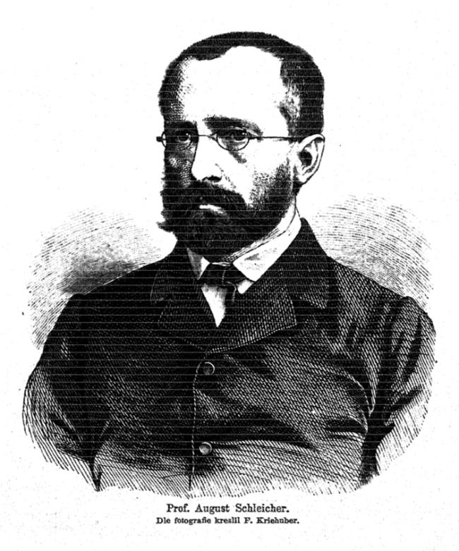August_Schleicher_1869_Kriehuber