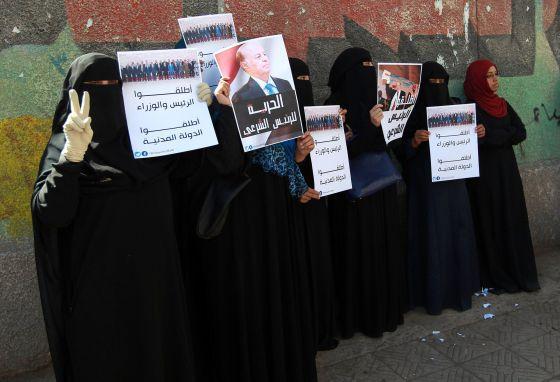 Mujeres_mani_Yemen